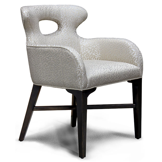 Charter Furniture Dion Contemporary Dining Side Chair