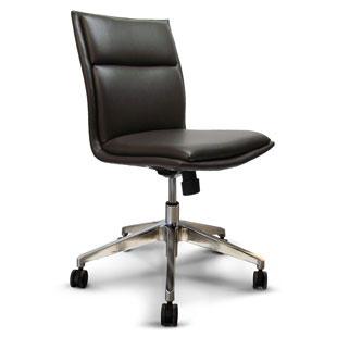 Charter Furniture Fully Upholstered Desk Swivel Chair